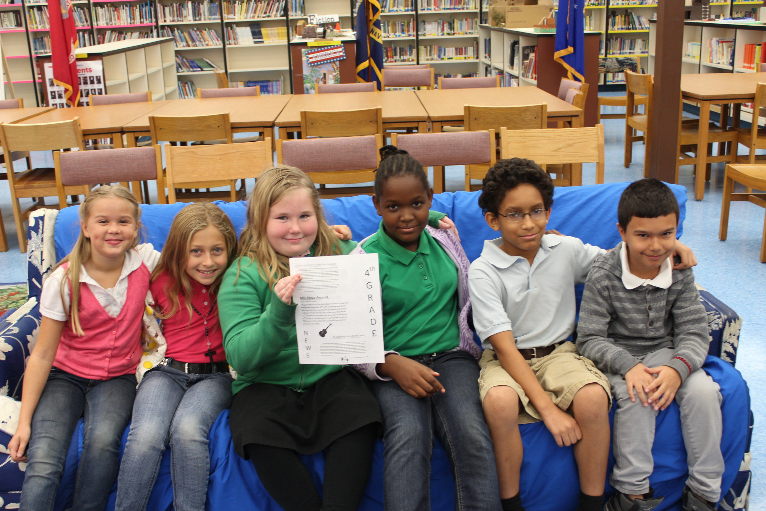 Northport fourth graders hone journalistic skills