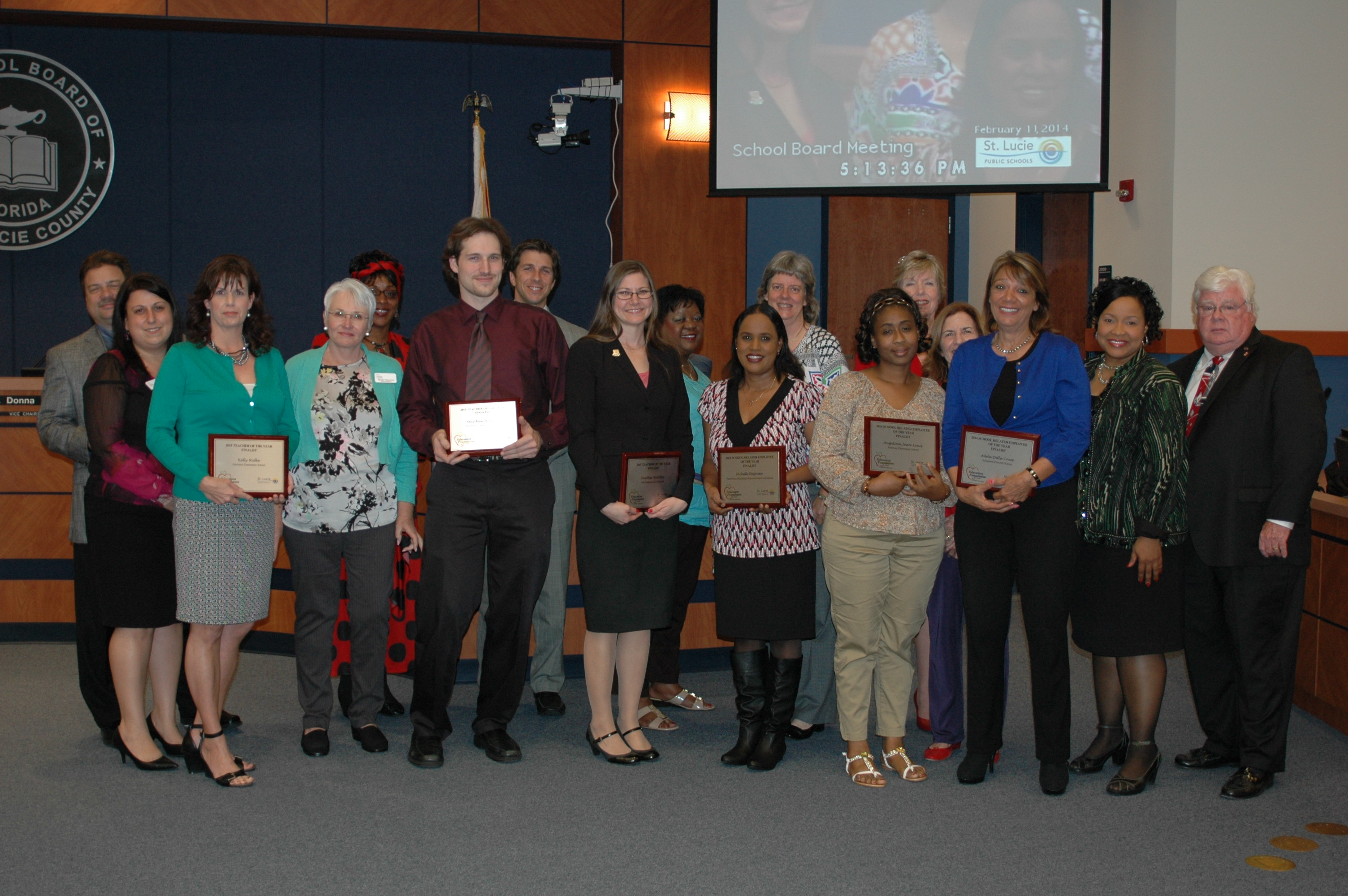 Employee of the year finalists recognized
