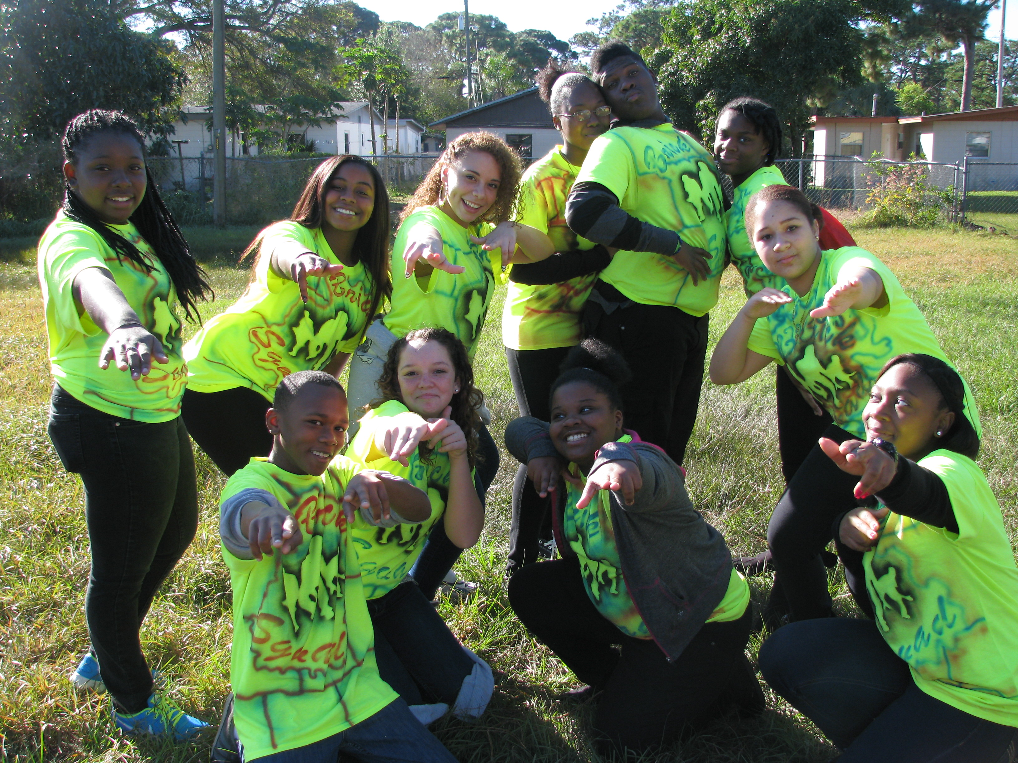 Southport Middle School step team stepping up its act