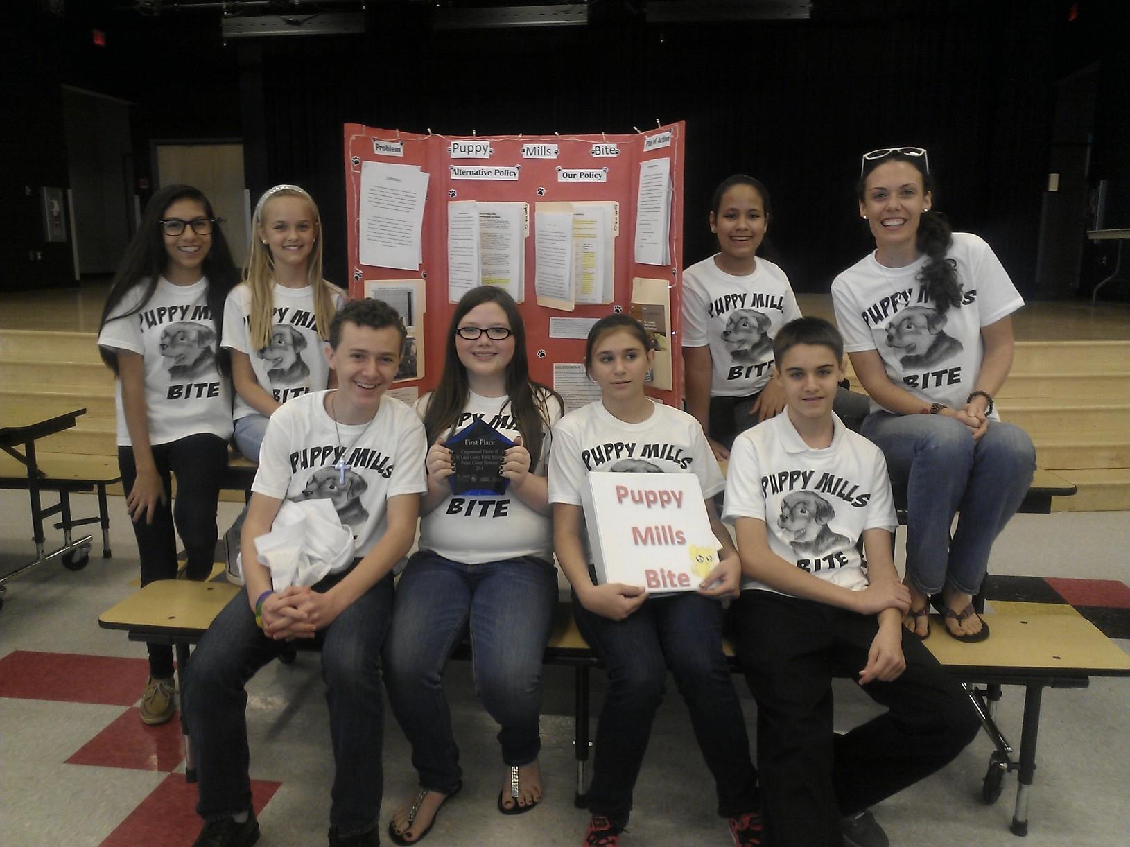 Palm Pointe wins Project Citizen showcase