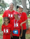 F.K. Sweet families come out and race for a cure