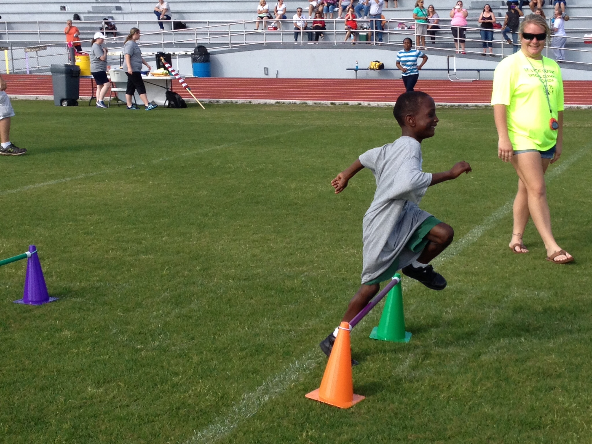 Gaines Academy students participate in local Special Olympics event