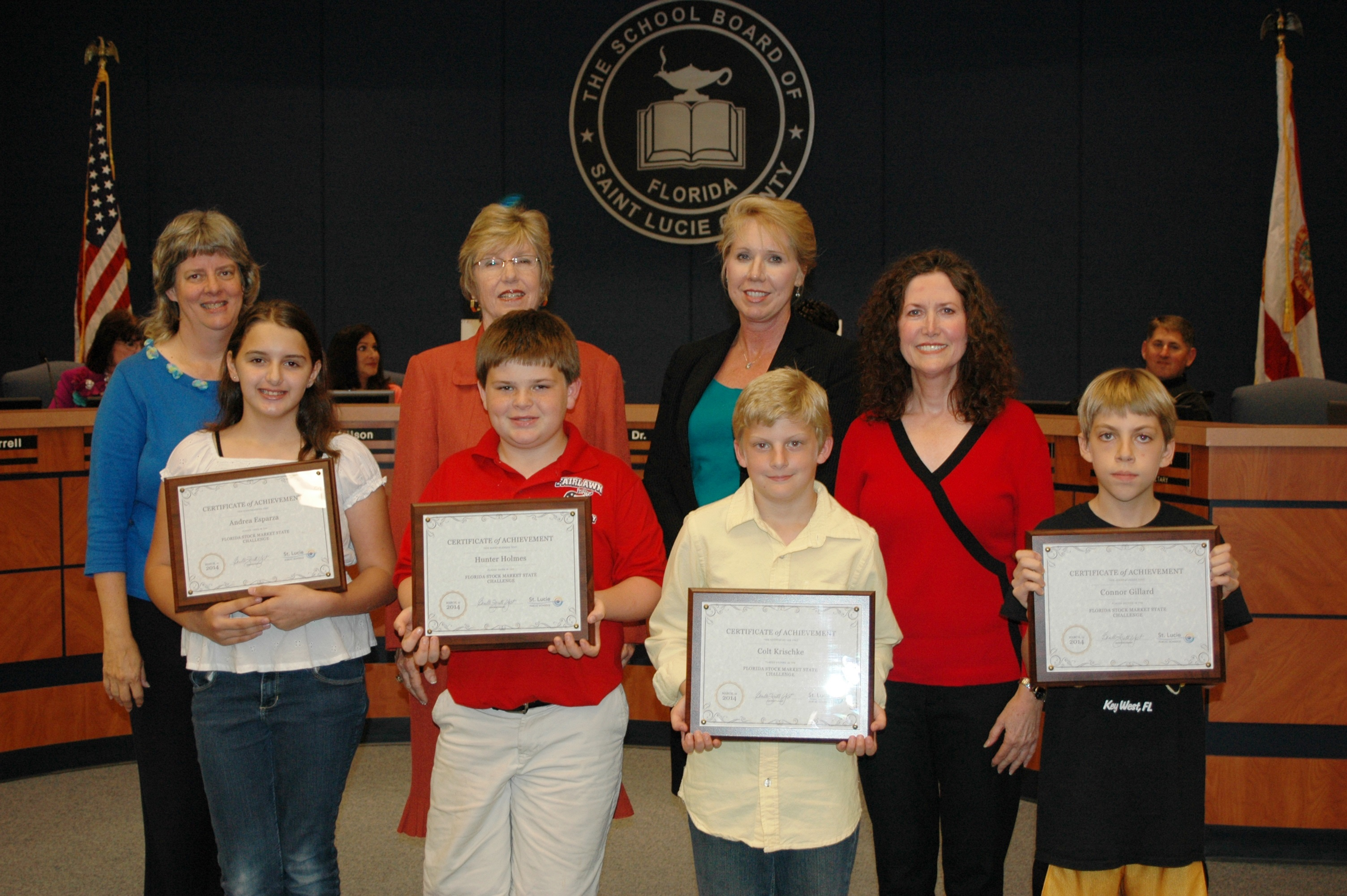 Fairlawn Elementary students recognized for state contest win