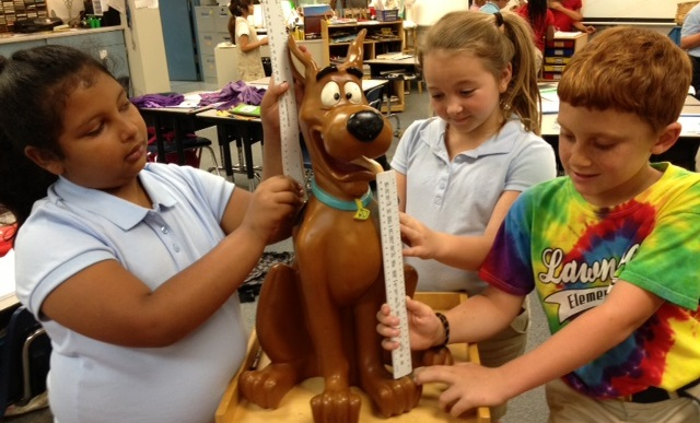 Lawnwood Elementary Students Measure Up!