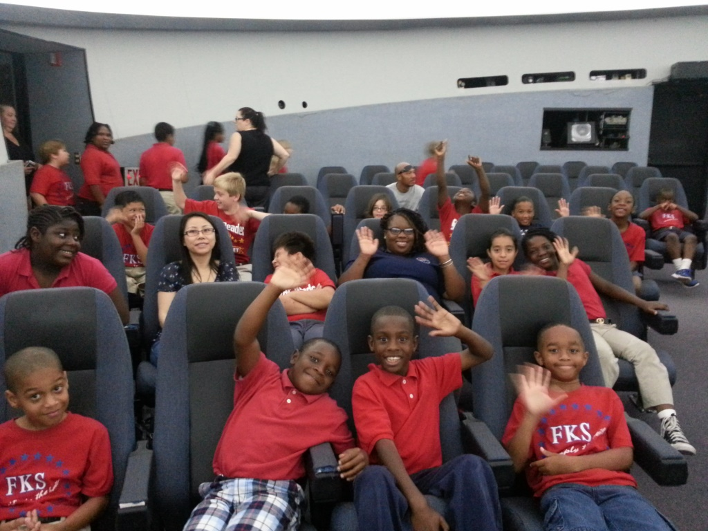F.K. Sweet Third Graders Visit the Planetarium
