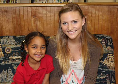 Northport BBBS Mentor Receives Childrens Services Scholarship