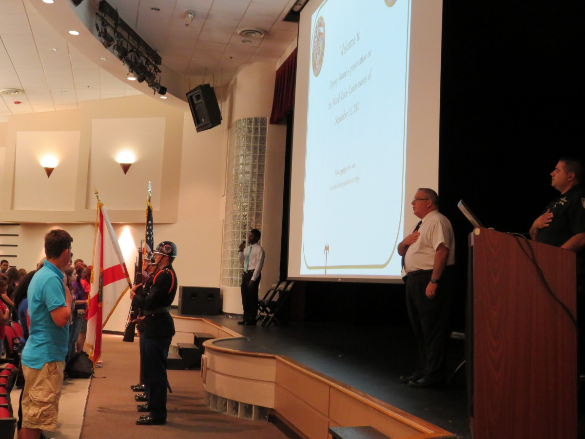 9-11 Presentation at Port St. Lucie High School