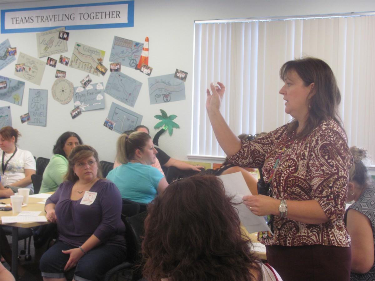 Volunteer Orientation held at Palm Pointe