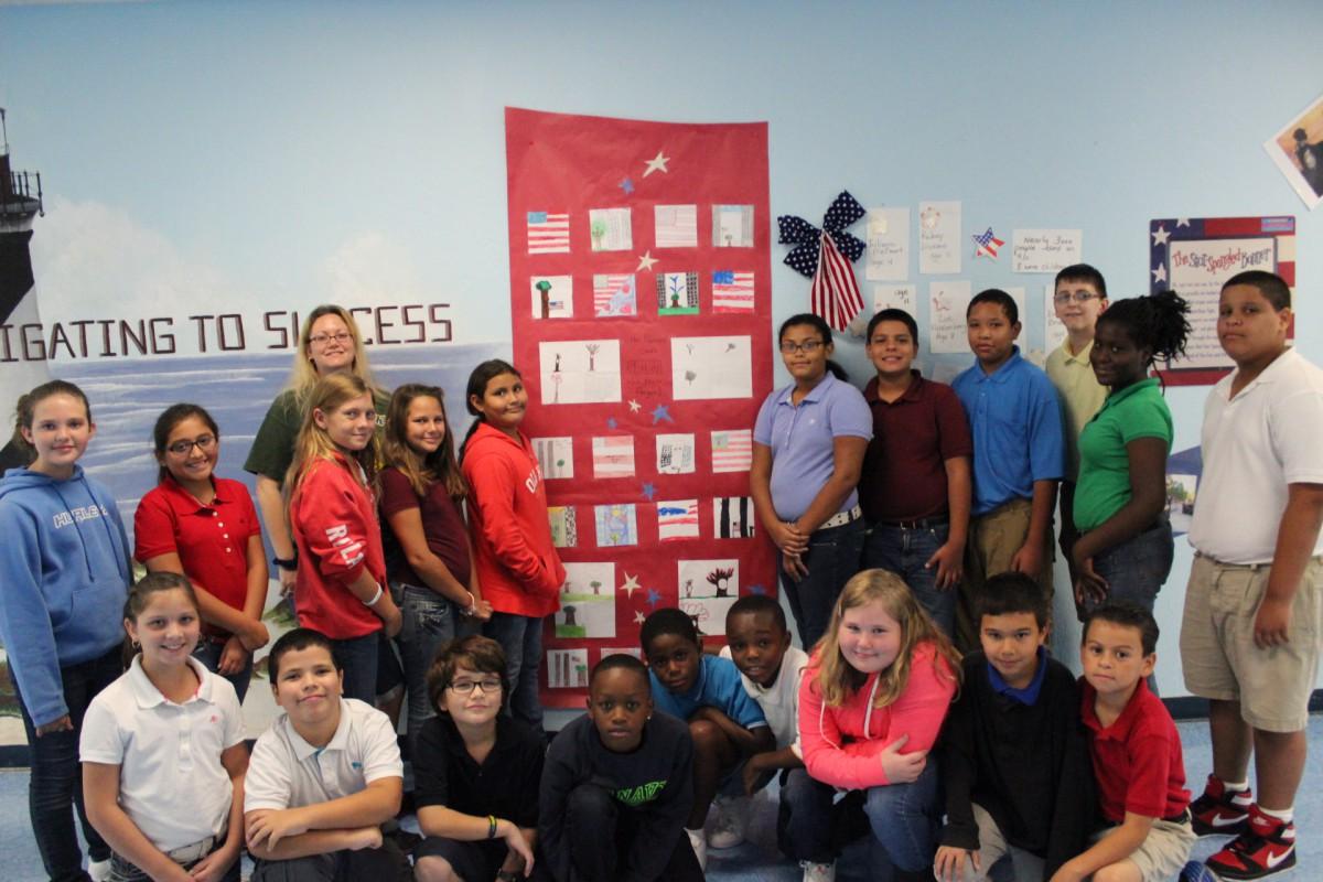 Northport Fifth Graders Honor the Spirit of 9/11 Survivor's Tree!