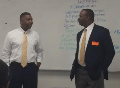 State Representative Larry Lee Visits Civic Class at LPA