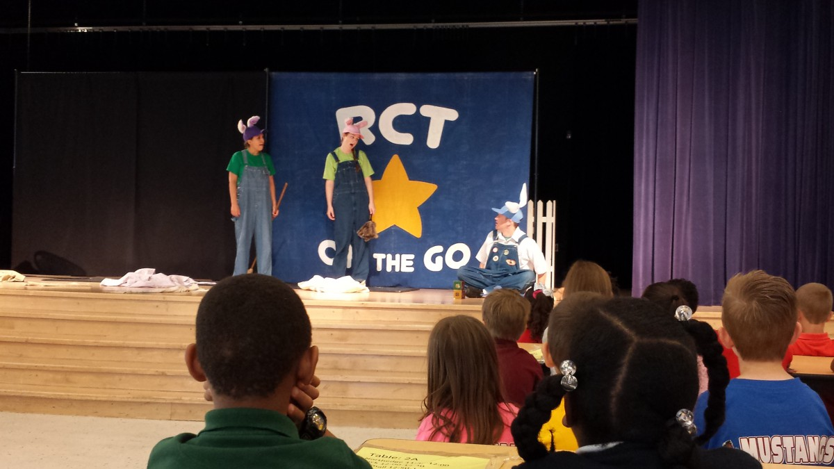 Westgate First Grade Enjoys Peter Rabbit