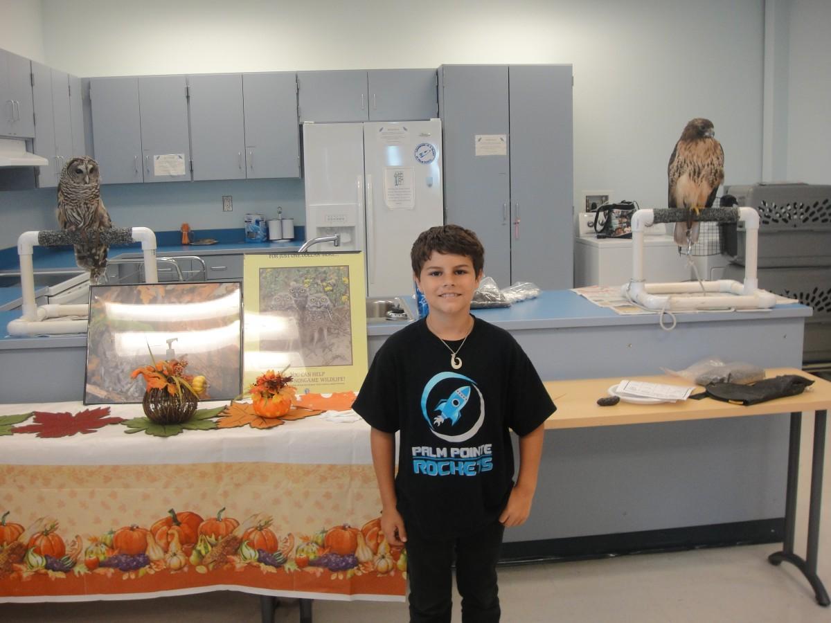 Hobe Sound Nature Center visits Palm Pointe