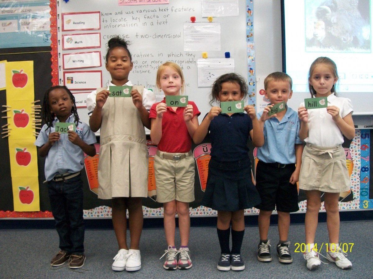 F.K.Sweet First Graders Work in Teams to Build Sentences