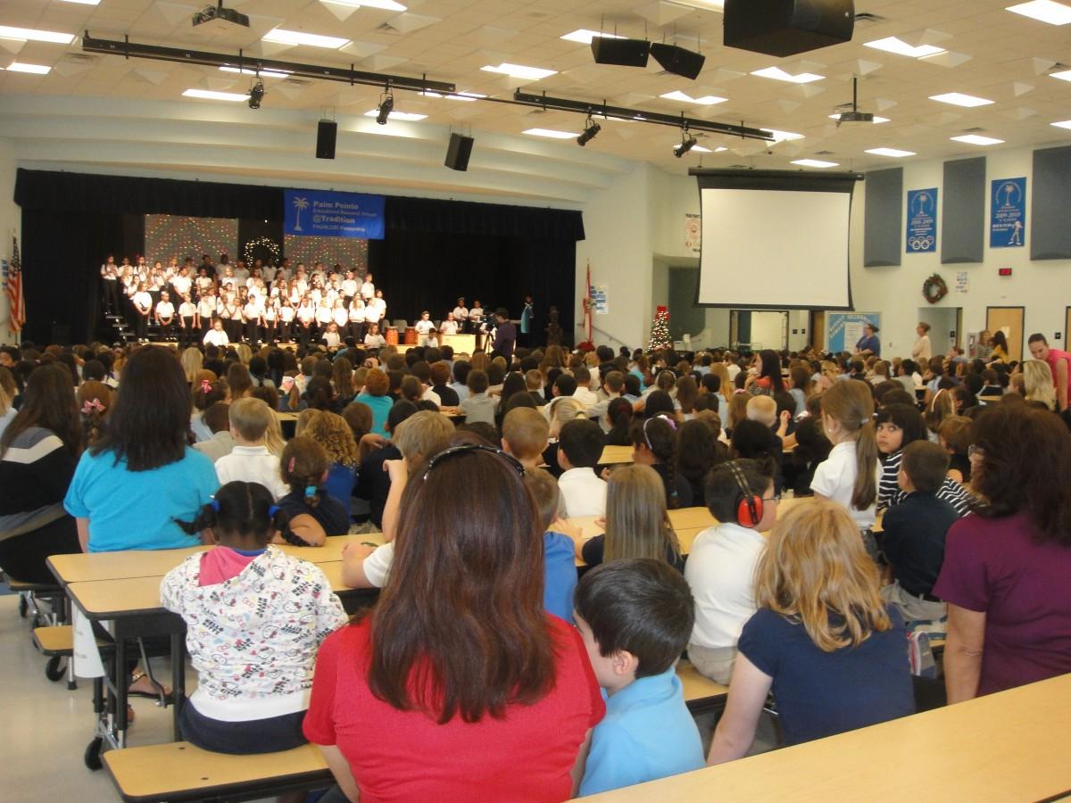Holiday Chorus Concert Enjoyed at Palm Pointe
