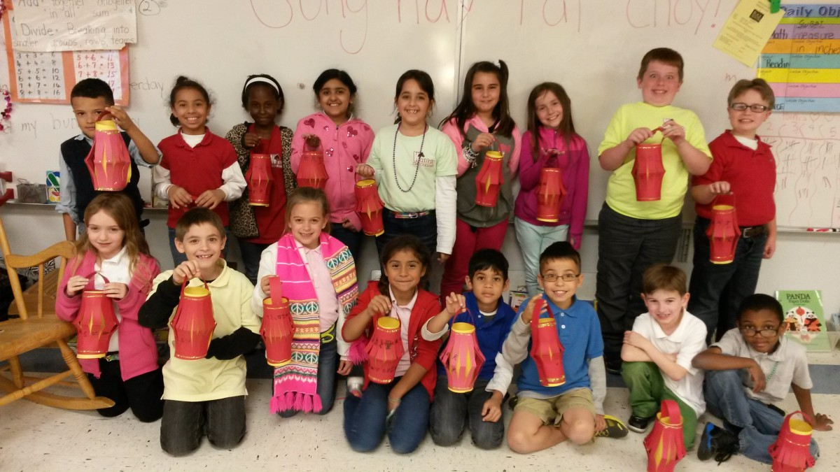 Second Grade Celebrates Other Cultures