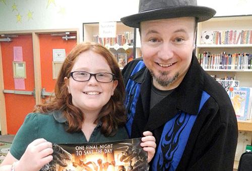 Author Michael Anthony Steele Visits Bayshore