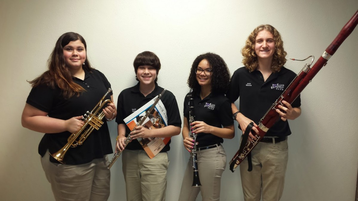 Oak Hammock Band Students Participate in IRSC Four County Honor Band