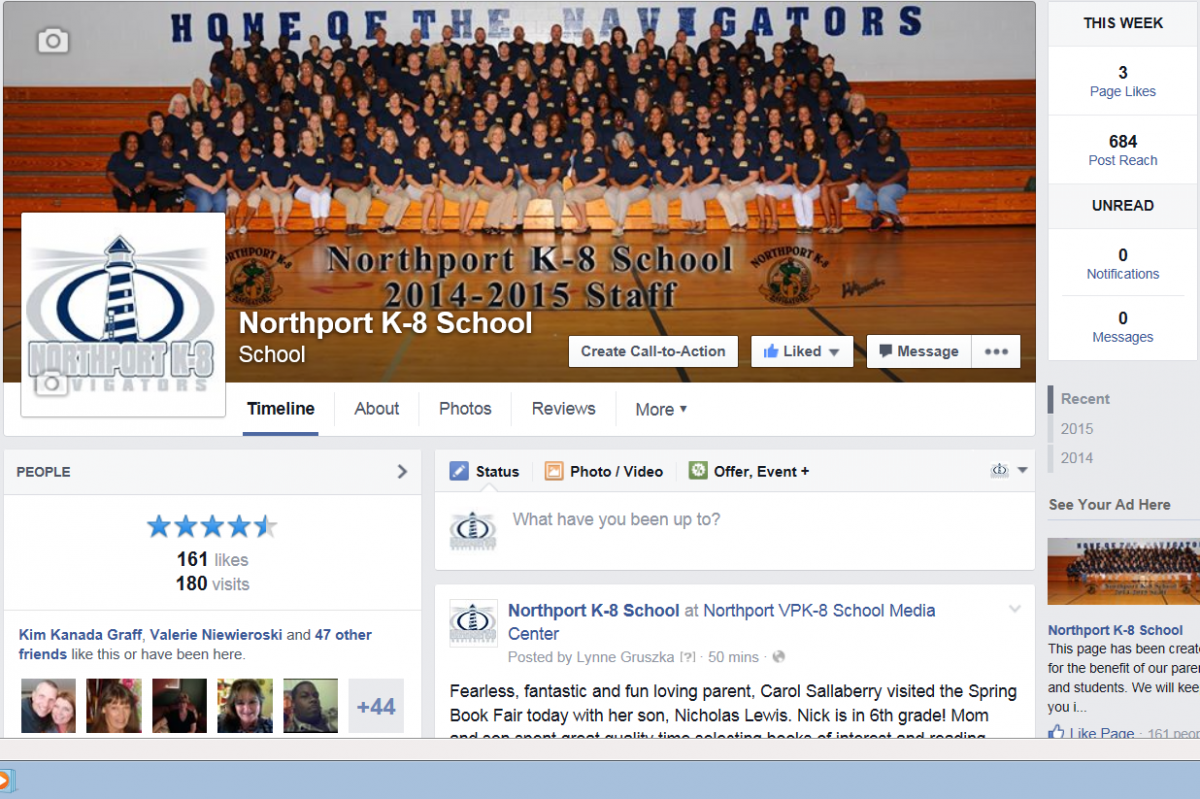 Northport Engages Parents, Families, and Community using Social Media!