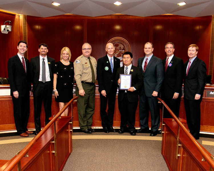Young Park Volunteer Twice Honored at State Level
