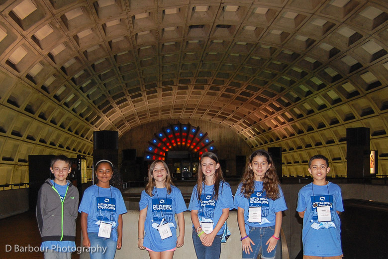 Mariposa's Fifth Grade N.E.E.D. Students Visit the Capital