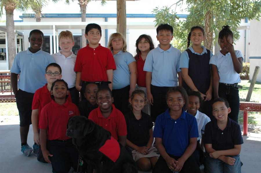 Frances K. Sweet Third Graders Have a Furry Visitor