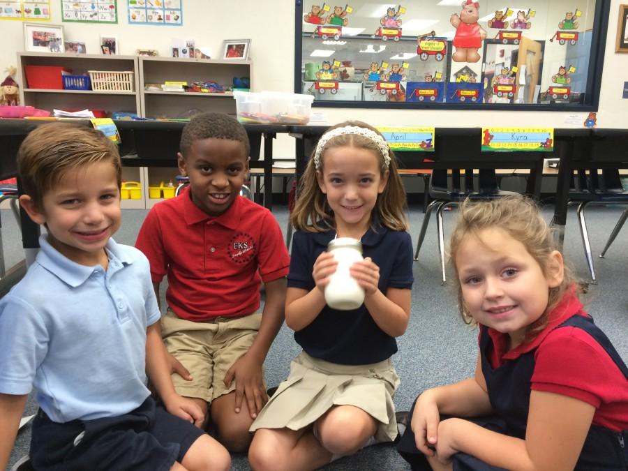 Frances K. Sweet First Graders Make Butter