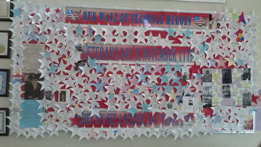 Oak Hammock K-8 Honors Personal Heroes for Veterans Day