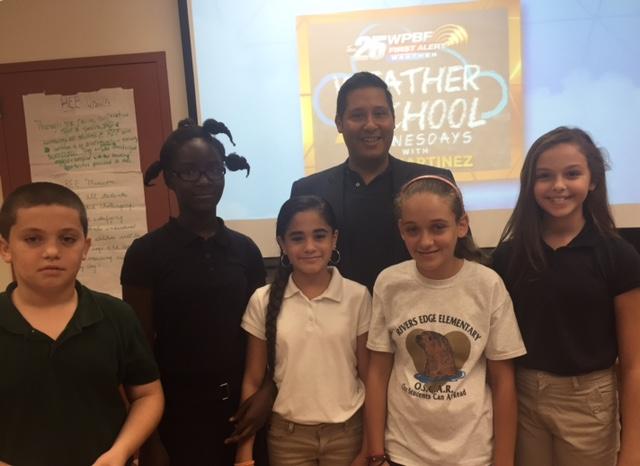 Cris Martinez's Weather School Comes to REE