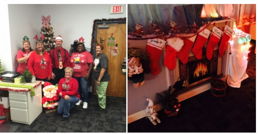 Transportation Routing Department Hosts a WINTER WONDERLAND!