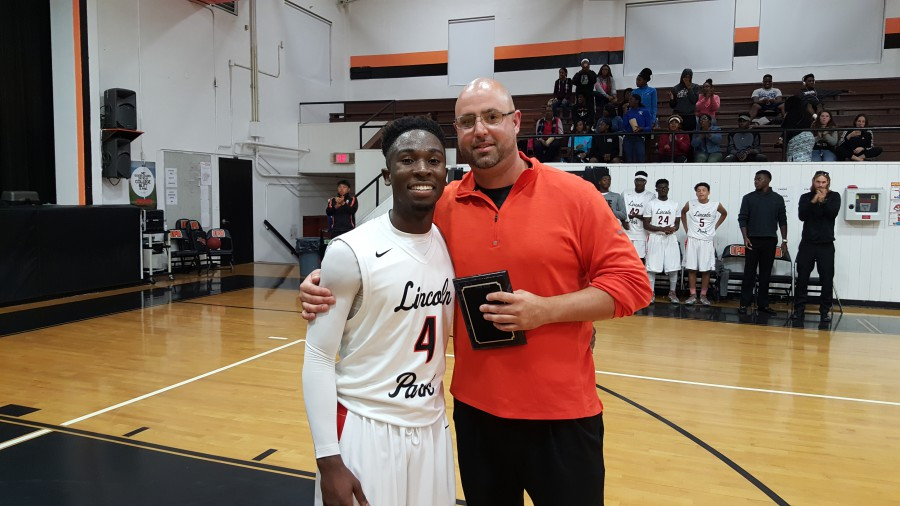 LPA  Basketball Player Scores 1,000 Points