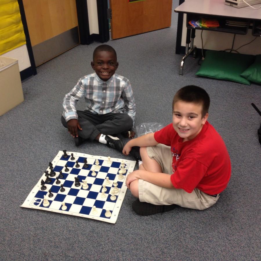 Chess at Frances K. Sweet