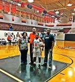 Lady Greyhound Basketball Player Scores 1000 Points