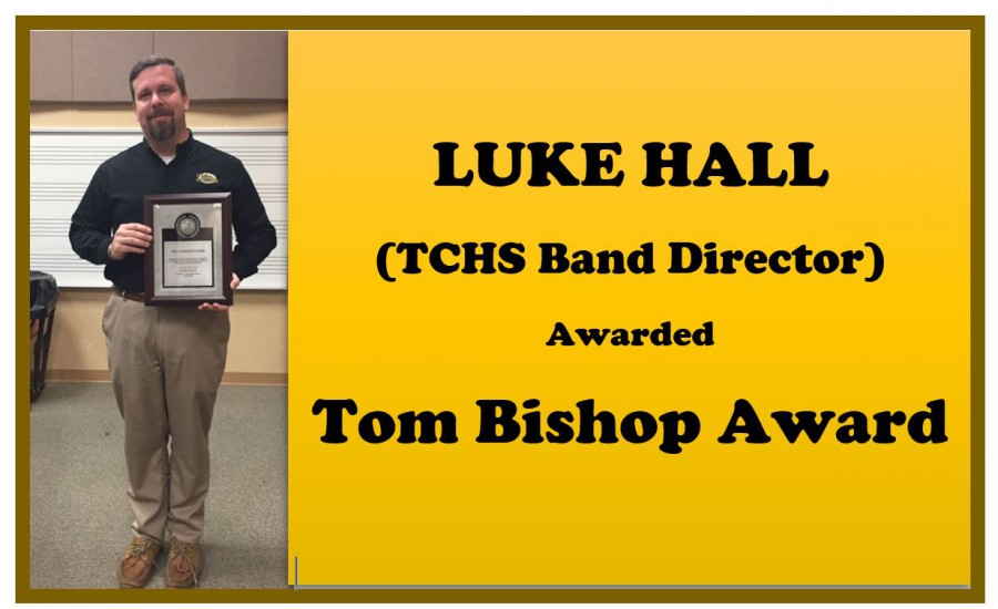 TCHS Band Director Receives Award
