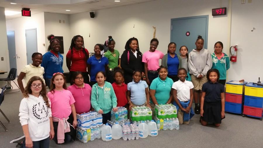 Lawnwood Elementary GEMS Club Gives Back to Flint!