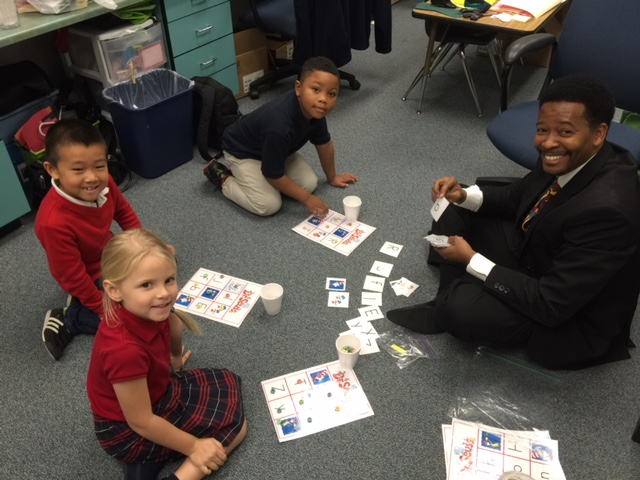 Frances K. Sweet Kindergarten Loves Volunteers