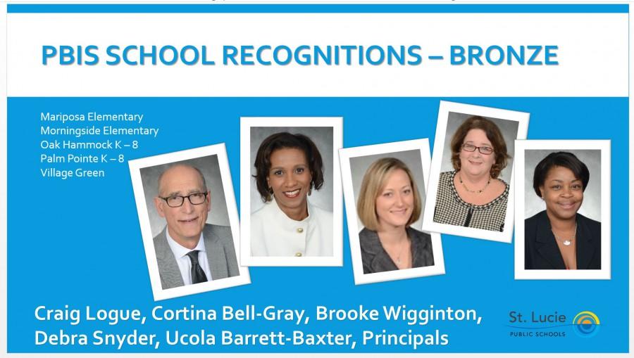 PBIS Award – Bronze Level Award