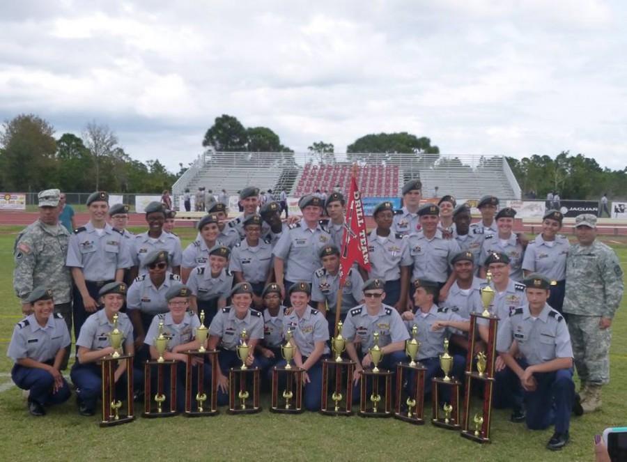 Jaguar Battalion Drill Team – First Place
