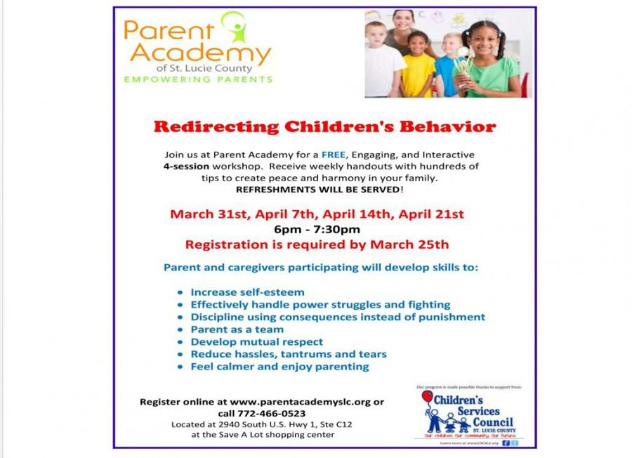 Parent Academy Workshop