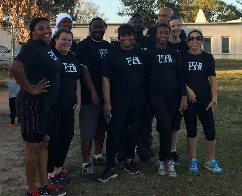 C.A. Moore Elementary Kickball Team