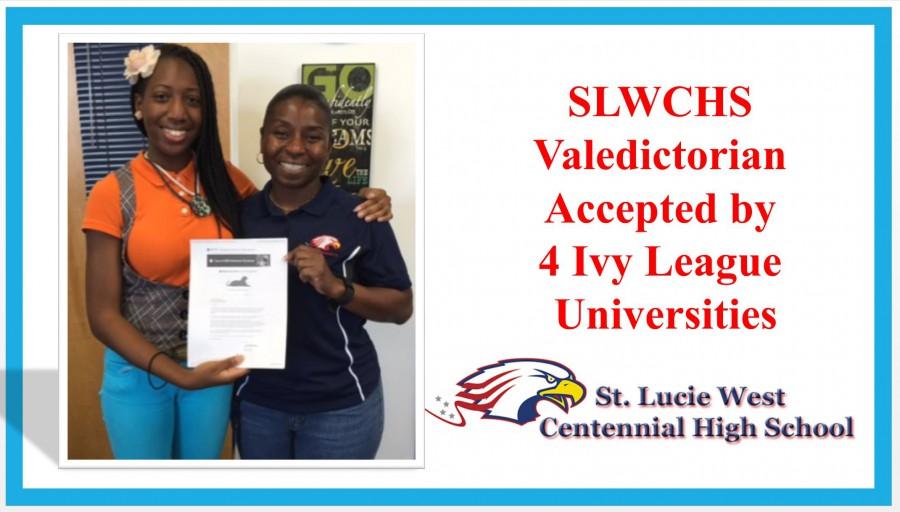 Centennial Valedictorian Accepted Into Four Ivy League Universities