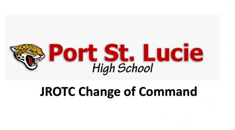 JROTC Change of Command Ceremony