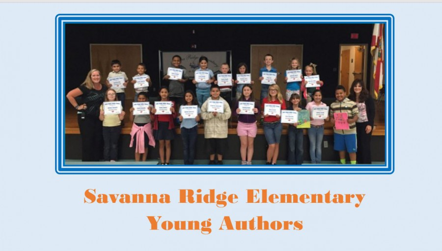 Savanna Ridge Young Author Class Winners Celebrate with Sundaes!