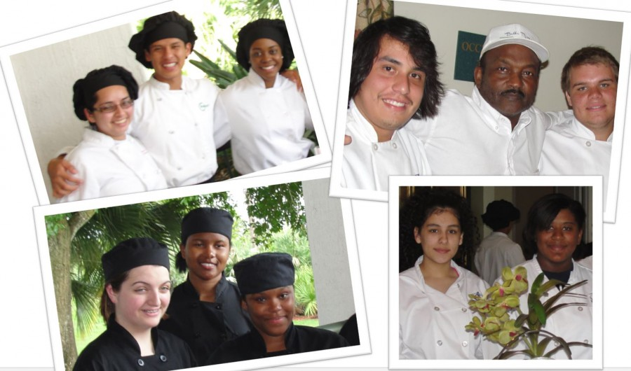 Culinary Students Serve