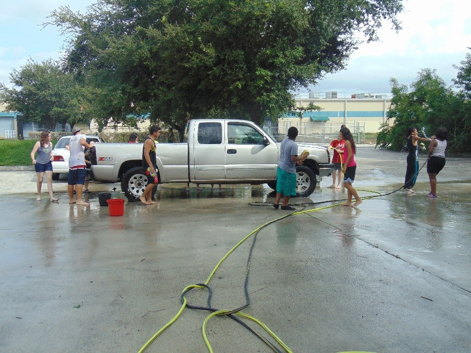 Jaguar Battalion Car Wash