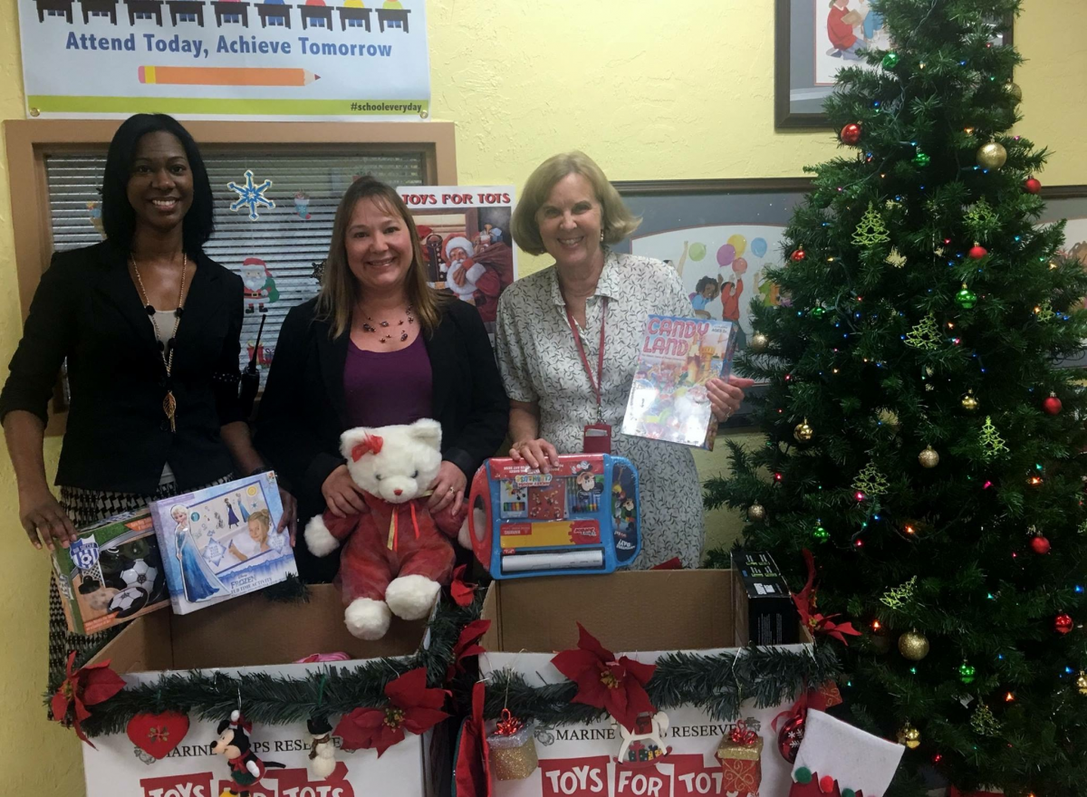Bayshore Donates to Toys for Tots