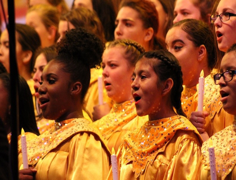 LPA Chorale Performs at Disney Candlelight Processional for the 10th Consecutive Year