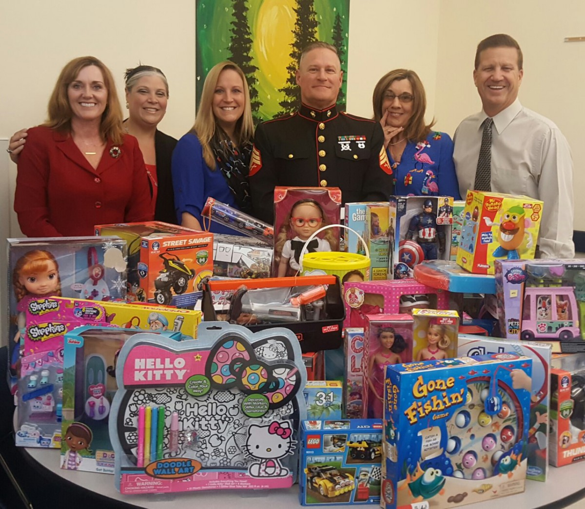 Toys for Tots Collected