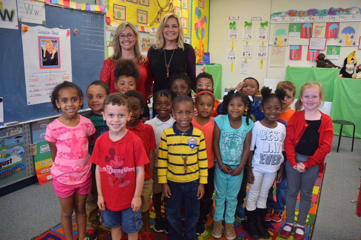 News Anchor Visits F K Sweet Kindergarten