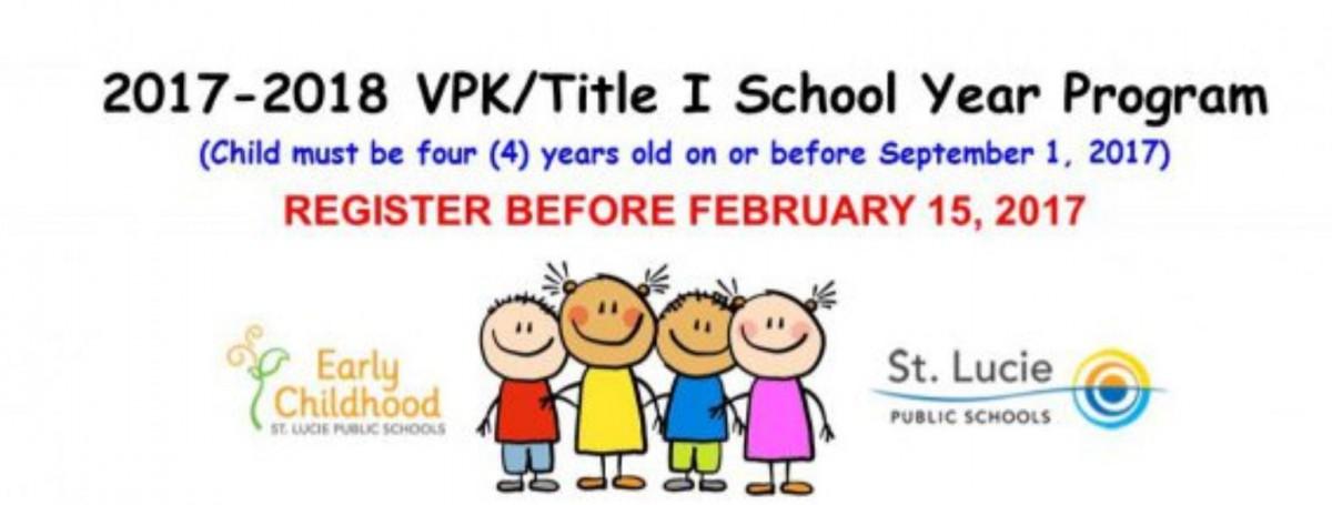 VPK/Title One Registration