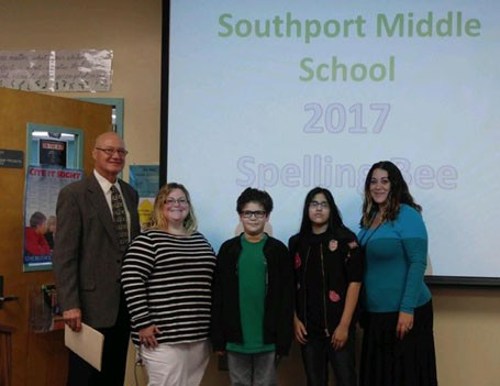 Southport's Spelling Bee Winners